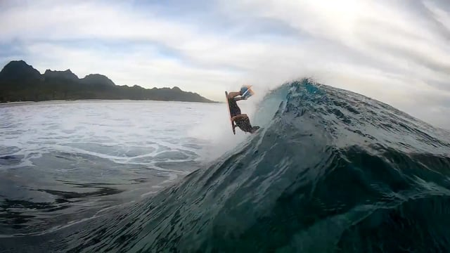 A session in the Pacific